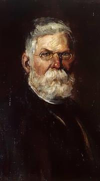 Portrait von Hermann Gruson um 1890